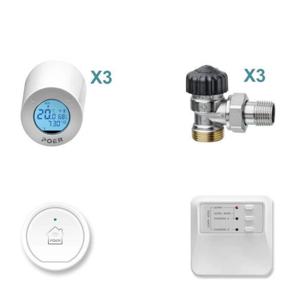 Capete termostatice POER Smart