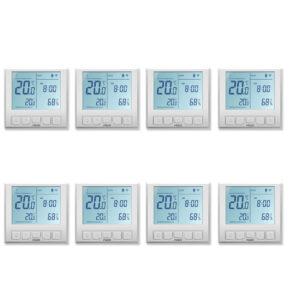Pachet 8 termostatate inteligente de pardoseala POER Smart